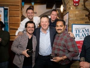 Mustard Foods Christmas Awards Jan 2019 award